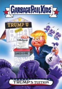2016-17 Topps Garbage Pail Kids Disg-Race to the White House - Updated 107