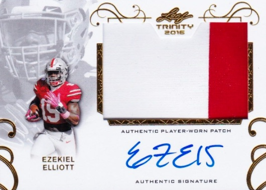 Top Ezekiel Elliott Rookie Cards 34