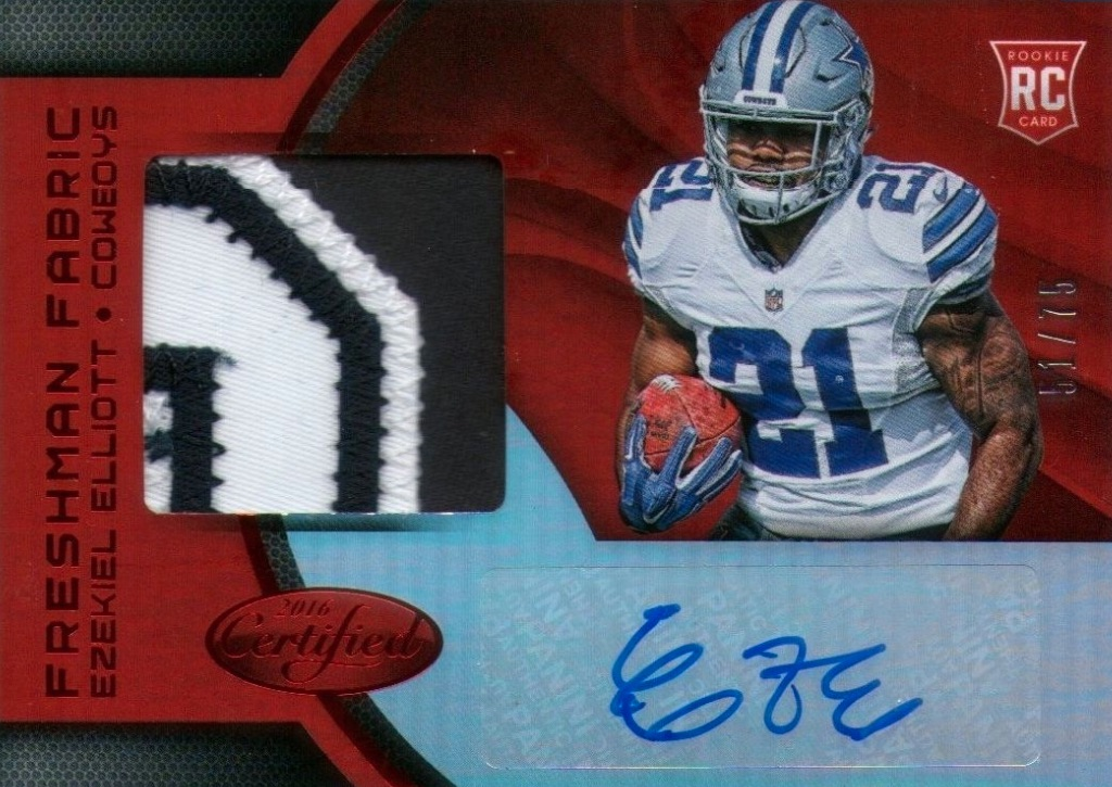Top Ezekiel Elliott Rookie Cards 2