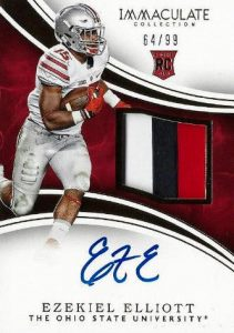 Top Ezekiel Elliott Rookie Cards 15