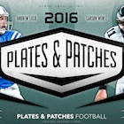 2016 Panini Plates and Patches Football Cards