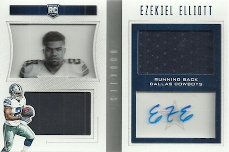 Top Ezekiel Elliott Rookie Cards 25