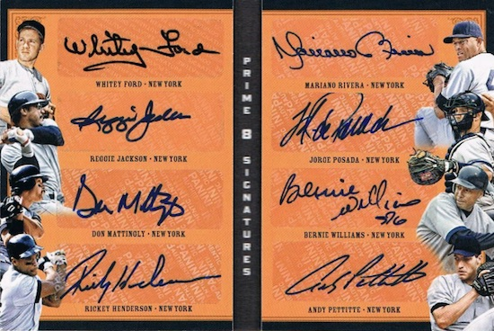 2016-panini-prime-cuts-baseball-prime-eight-signatures-booklets-yankees
