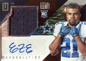Top Ezekiel Elliott Rookie Cards 32