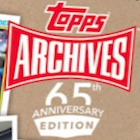 2016 Topps Archives 65th Anniversary Edition Baseball Cards - Update