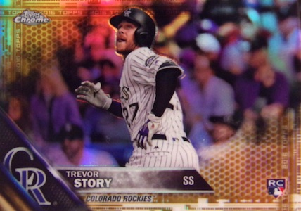 2016 Topps Chrome Update Series Baseball Cards 1