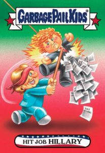 2016-17 Topps Garbage Pail Kids Disg-Race to the White House - Updated 60