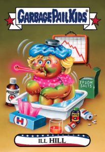 2016-17 Topps Garbage Pail Kids Disg-Race to the White House - Updated 65