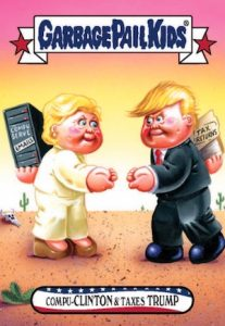 2016-17 Topps Garbage Pail Kids Disg-Race to the White House - Updated 64