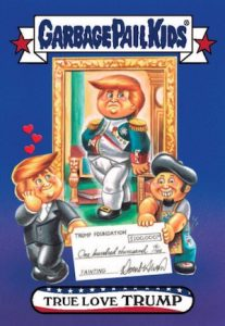2016-17 Topps Garbage Pail Kids Disg-Race to the White House - Updated 68
