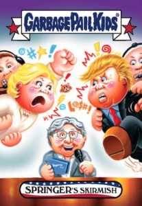 2016-17 Topps Garbage Pail Kids Disg-Race to the White House - Updated 71