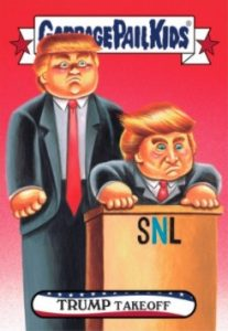 2016-17 Topps Garbage Pail Kids Disg-Race to the White House - Updated 74