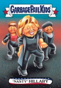 2016-17 Topps Garbage Pail Kids Disg-Race to the White House - Updated 75