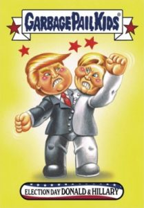 2016-17 Topps Garbage Pail Kids Disg-Race to the White House - Updated 81