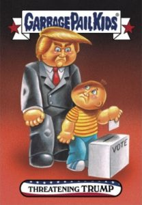 2016-17 Topps Garbage Pail Kids Disg-Race to the White House - Updated 83