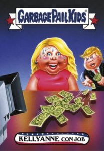 2016-17 Topps Garbage Pail Kids Disg-Race to the White House - Updated 86