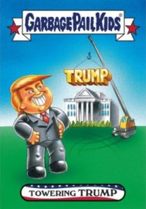 2016-17 Topps Garbage Pail Kids Disg-Race to the White House - Updated 84