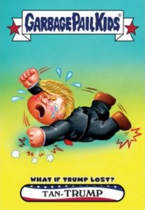 2016-17 Topps Garbage Pail Kids Disg-Race to the White House - Updated 92