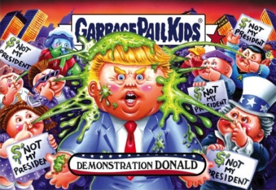 2016-17 Topps Garbage Pail Kids Disg-Race to the White House - Updated 90