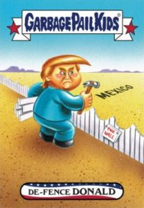 2016-17 Topps Garbage Pail Kids Disg-Race to the White House - Updated 95