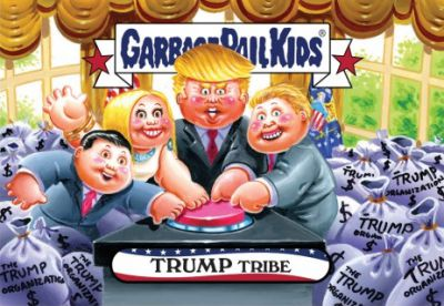 2016-17 Topps Garbage Pail Kids Disg-Race to the White House - Updated 97