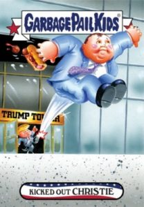 2016-17 Topps Garbage Pail Kids Disg-Race to the White House - Updated 104