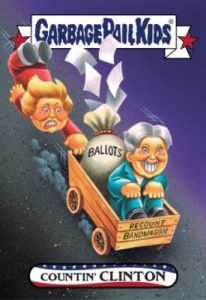 2016-17 Topps Garbage Pail Kids Disg-Race to the White House - Updated 111