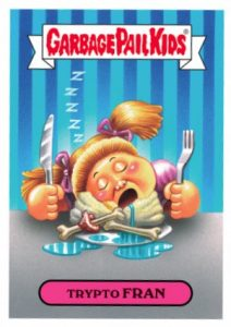 2016 Topps Garbage Pail Kids Thanksgiving Stickers 20