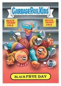 2016 Topps Garbage Pail Kids Thanksgiving Stickers 27