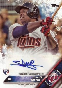 2016 Topps Holiday Baseball Cards 20