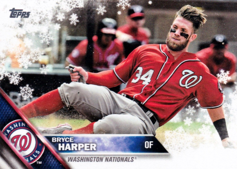2016 Topps Holiday Baseball Cards 22