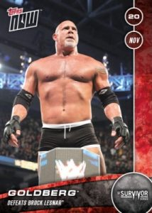 2016 Topps Now WWE Trading Cards 29