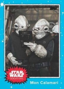 2016 Topps Star Wars Rogue One Mission Briefing Monday Trading Cards - Final Set 23