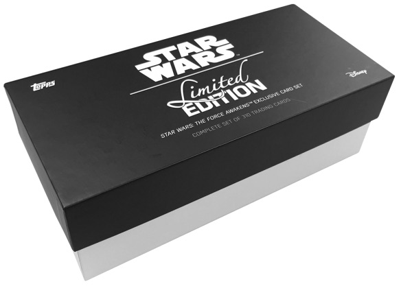 2016 Topps Star Wars The Force Awakens Complete Set Limited Edition