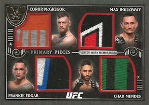 2016 Topps UFC Museum Collection Trading Cards 26