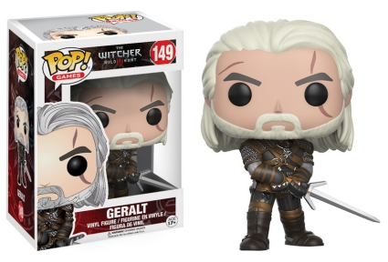 Funko Pop The Witcher Vinyl Figures 3