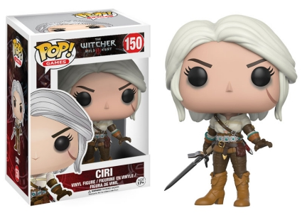Funko Pop The Witcher Vinyl Figures 4