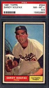 Press Release: Just Collect Offers Graded 1961 Topps Near Set-Break at Auction 3