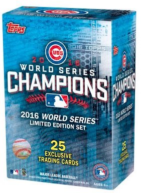 2016 Topps Chicago Cubs World Series Champions Limited Edition Set - Checklist Added 3