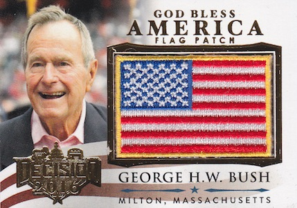 Decision 2016 Series 2 Political Trading Cards - Checklist Added 28