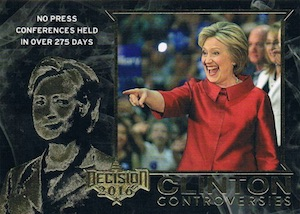 Decision 2016 Series 2 Political Trading Cards - Checklist Added 34