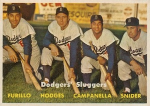 Top 10 Gil Hodges Baseball Cards 5