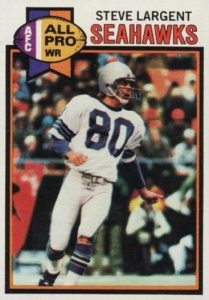 Top 10 Steve Largent Football Cards 7