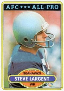 Top 10 Steve Largent Football Cards 6