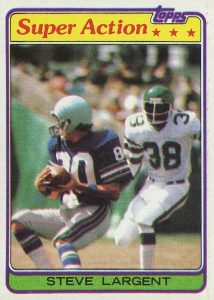 Top 10 Steve Largent Football Cards 1
