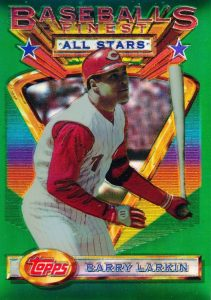 Top 10 Barry Larkin Baseball Cards 7