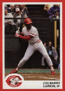 Top 10 Barry Larkin Baseball Cards 1