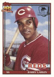 Top 10 Barry Larkin Baseball Cards 6