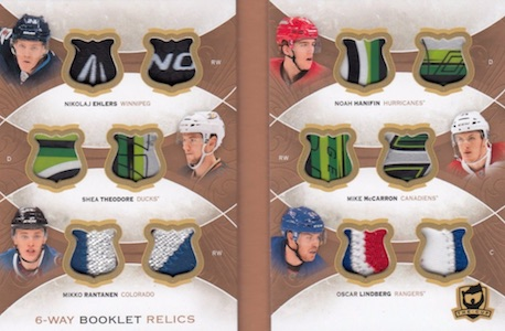 2015-16 Upper Deck The Cup Hockey Cards 23