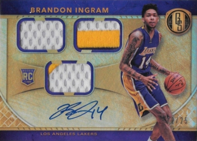 2016-17 Panini Gold Standard Basketball Cards 22